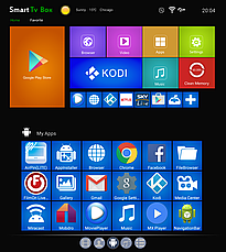 X96 mini TV BOX Android Смарт ТВ телевизионная приставка медиаплеер 2GB+16GB Amlogic S905W, фото 3