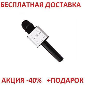 Микрофон караоке Tuxun Q7 + Bluetooth беспроводной