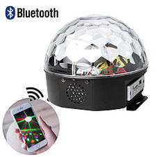 Диско шар Led Magic Ball Light YPS D50 Лед Меджик Бол Лайт с радио и MP3 Original size Светомузыка, фото 2