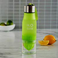 Бутылка соковыжималка H2O green