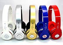 Наушники Beats S460 Bluetooth ФМ радио гарнитура + нож-визитика, фото 3