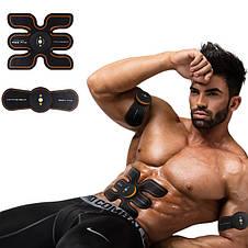 Smart Fitness EMS Trainer Beauty Body Cardboard case Миостимулятор 3 в 1 для мышц пресса и рук, фото 3