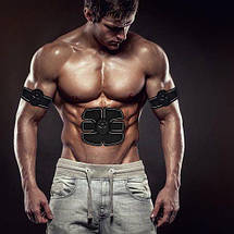 Smart Fitness EMS Trainer Beauty Body Cardboard case Миостимулятор 3 в 1 для мышц пресса и рук, фото 2