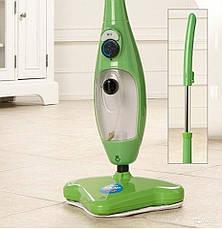 H2O Steam Mop X5 Универсальная Паровая чудо швабра, мощный пароочиститель, фото 3