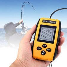 Эхолот портативный рыбопоисковый Portable Fish Finder FF1108/TL88 для летней рыбалки, фото 3
