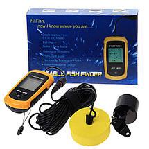 Эхолот портативный рыбопоисковый Portable Fish Finder FF1108/TL88 для летней рыбалки, фото 2