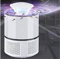 Лампа ловушка для комаров Mosquito Killer Lamp Белая