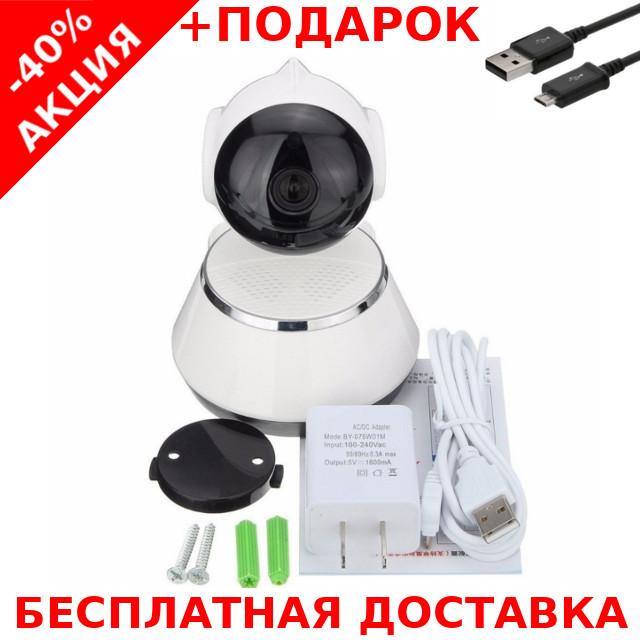 Беспроводная поворотная мини ONVIF Camera с ночной подсветкой