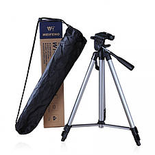 Компактный штатив Tefeng TF-3110 для экшн камер, смартфонов +Пульт bluetooth, фото 3