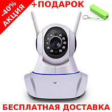Беспроводная поворотная IP Camera Yoosee CLOUD с ночной подсветкой + ethernet