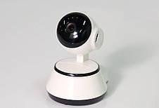 Беспроводная поворотная мини ONVIF Camera с ночной подсветкой, фото 3