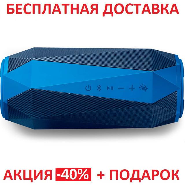Портативная Bluetooth колонка Philips ShoqBox BLUE size USB microSD MP3 плеер