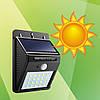 Настенный светильник на солнечной батарее Solar Powered LED Wall Light 30 LED, фото 2