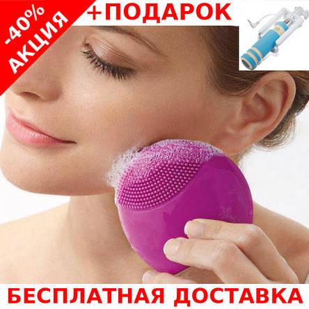 Электрическая щетка-вибромассажер для лица FOREVER Lina Mini 2 Cleanser Brush, фото 2