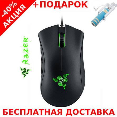 Игровая мышь USB RAZER (Death Adder) Original size High DPI, фото 2