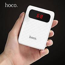 Power Bank HOCO 10000Ah Mige B20 блистер Портативная батарея Внешний Аккумулятор зарядний пристрій, фото 2