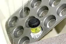 Щетка для мытья посуды JESOPB с дозатором для моющего средства, фото 2