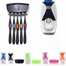 Автоматический диспенсер для зубной пасты и щеток Дозатор зубной пасты Original size, фото 3