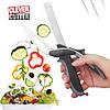 Умный нож Clever Cutter Blister case Кухонный нож-ножницы 2в1, фото 8