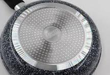 Глубокая сковорода с крышкой Benson BN-520 (28*8 см), фото 2