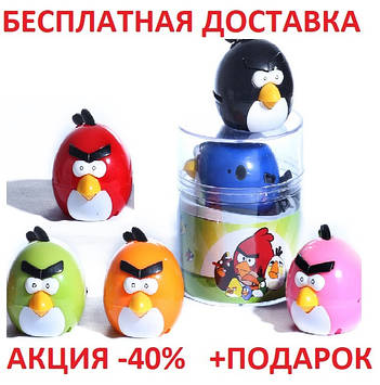 MP3 плеер Angry Birds зеленая птичка mp3 player