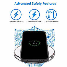 Qi передатчик беспроводная зарядка телефона блистер Fantasy Wireless Charge K9-22 портативное, фото 3