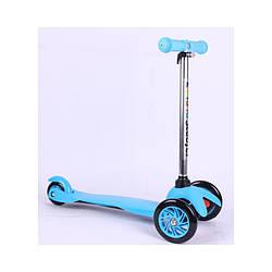 Самокат Scooter 034 синий