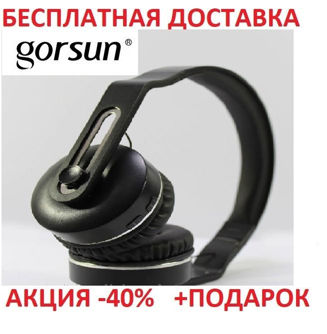 Наушники Bluetooth GORSUN GS-E83 BLUE беспроводная гарнитура для телефона Блютуз Вкладыши