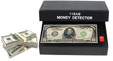 UV money detector ультрафиолетовый детектор подлинности валют AD-118AB, фото 3