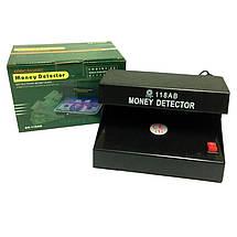 UV money detector ультрафиолетовый детектор подлинности валют AD-118AB, фото 2