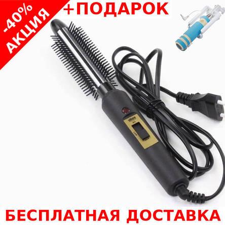 Плоечка-щетка Elbee 14209 Elma плойка - стайлер для завивки волос с защитой от ожогов, фото 2