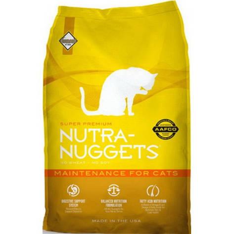 Корм для кошек Nutra Nuggets Maintenance 7,5 кг, фото 2