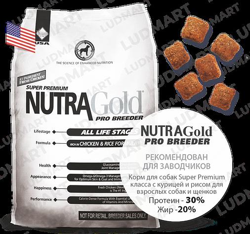 Корм для собак Nutra Gold Pro Breeder 10 кг, фото 2