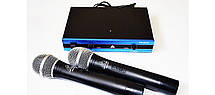 Профессиональный радио-микрофон Shure WM-501R dual professional UHF radiomicrophone Blister case, фото 3