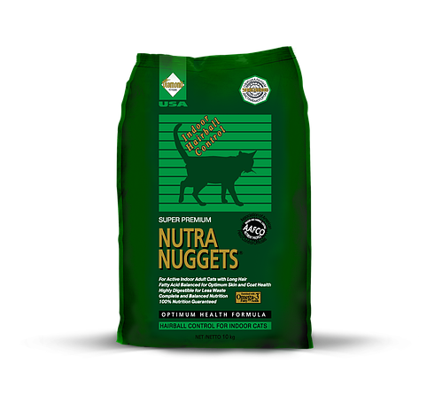 Корм для кошек Nutra Nuggets Indoor Hairball 10 кг, фото 2