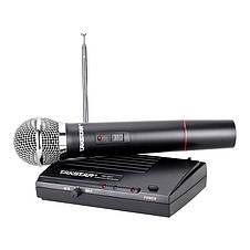 Одноканальная VHF радиосистема с одним ручным динамическим микрофоном TAKSTAR TS-331 Blister case, фото 2