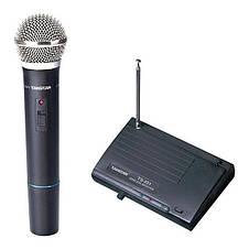 Одноканальная VHF радиосистема с одним ручным динамическим микрофоном TAKSTAR TS-331 Blister case, фото 3