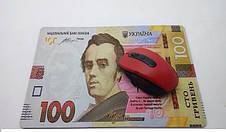 Коврик для мышки 100 ГРН (20*28*0.2) Тканевые коврики Поверхность для лазерной мыши Подстилка для мыши, фото 2