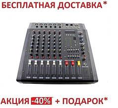 УСИЛИТЕЛИ ЗВУКА | АУДИО МИКШЕР MIXER BT 608D