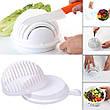 Овощерезка чаша для нарезки овощей и фруктов Salad Cutter Bowl Белая, фото 5