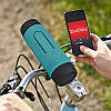 Портативная велосипедная колонка Hopestar P3 Bluetooth на руль велосипеда с фонарем и Power Bank 3600 mAh, фото 9