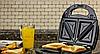 Сэндвичница, гриль, вафельница, с тремя сменными пластинами 3 в 1 DSP KC1049, фото 5
