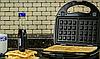 Сэндвичница, гриль, вафельница, с тремя сменными пластинами 3 в 1 DSP KC1049, фото 6