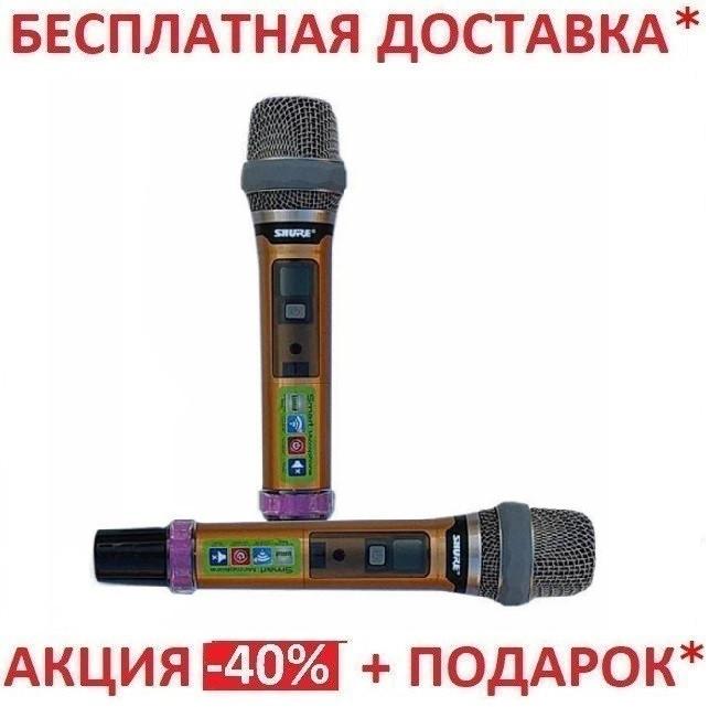 Радиосистема 2 микрофона Shure DM UGX10