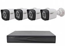 Комплект видеонаблюдения 4-Channel CCTV Security Kit (4 камеры), фото 3