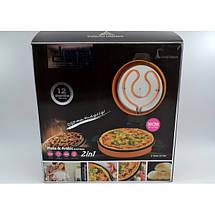 Электрическая блинница и для выпечки пиццы 2 в 1 DSP KC1069, фото 2
