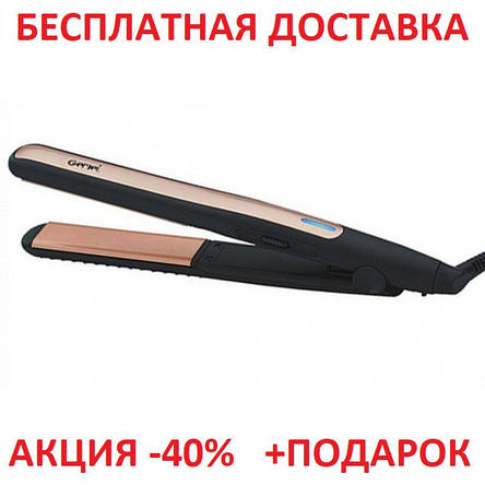 Профессиональный выпрямитель для волос Gemei GM-2955 с турмалиновым покрытием, фото 2