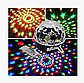 Светодиодный диско-шар MP3 LED Magic Ball Light, фото 4