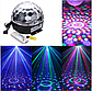 Светодиодный диско-шар MP3 LED Magic Ball Light, фото 5
