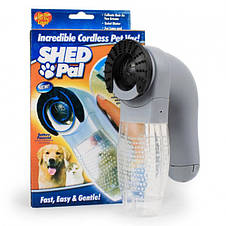 Машинка для стрижки собак и котов SHED PAL сборник шерсти для собак, фото 3